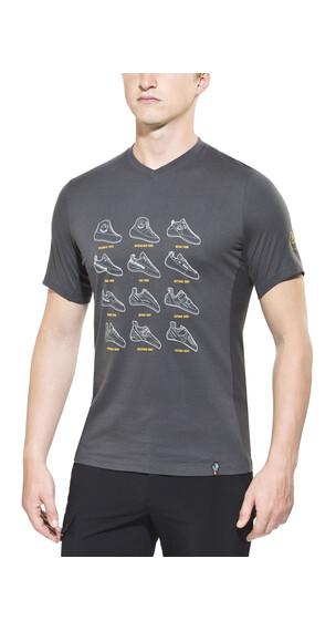La Sportiva Heritage t-shirt Heren grijs